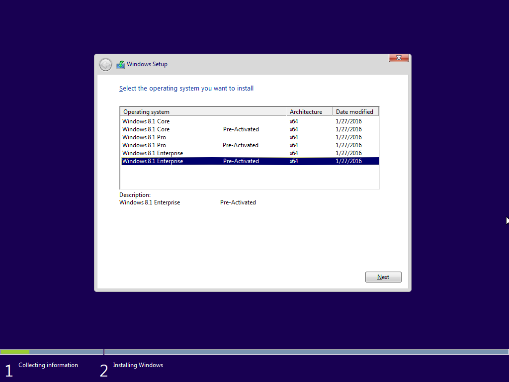 windows 8.1 pro activated iso