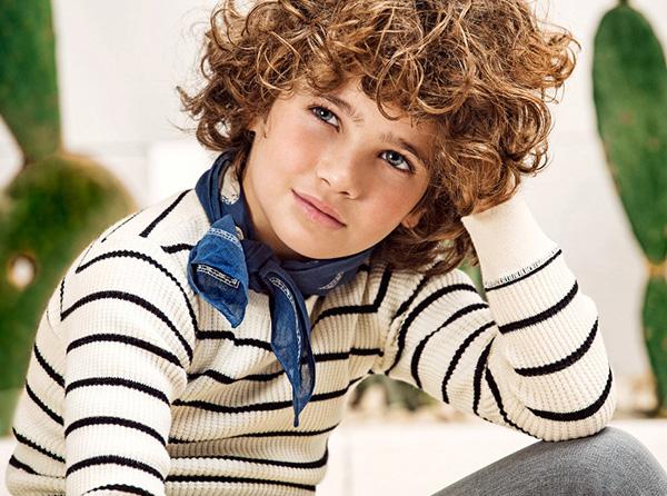 Moda sweaters de hilo niños primavera verano 2018 Paula Cahen D'Anvers Niños.