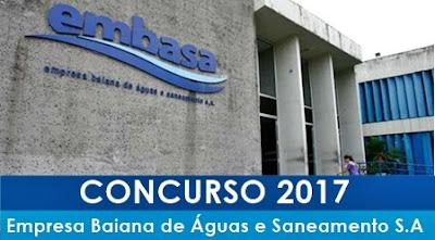 Apostila Concurso EMBASA Bahia 2017