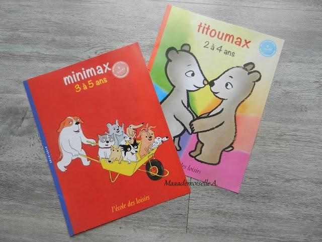 L'école des Max - Titoumax et Minimax
