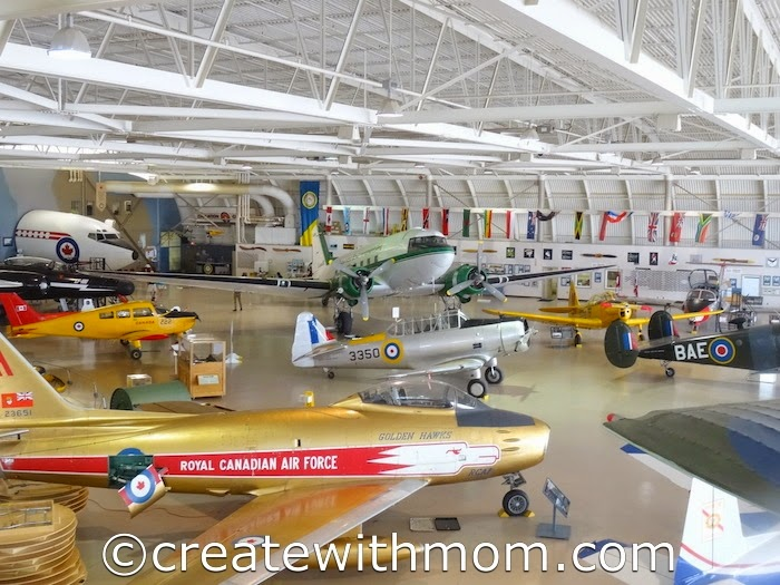 Create With Mom: Win Tickets to The Canadian Warplane