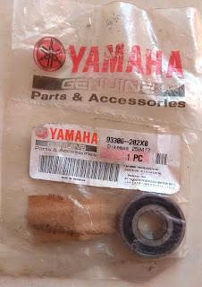 ukuran kode nomor bearing roda depan velg ban old vixion lama