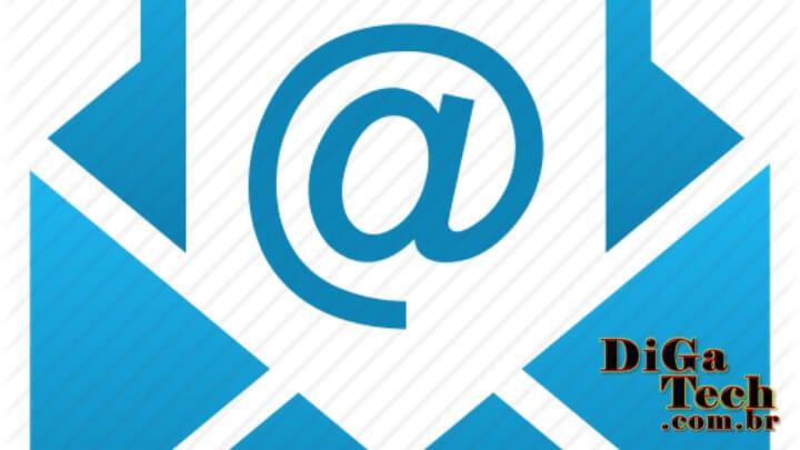 Logotipo Email com sinal de arroba