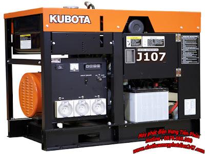 Máy phát điện Kubota 6.5kva J107