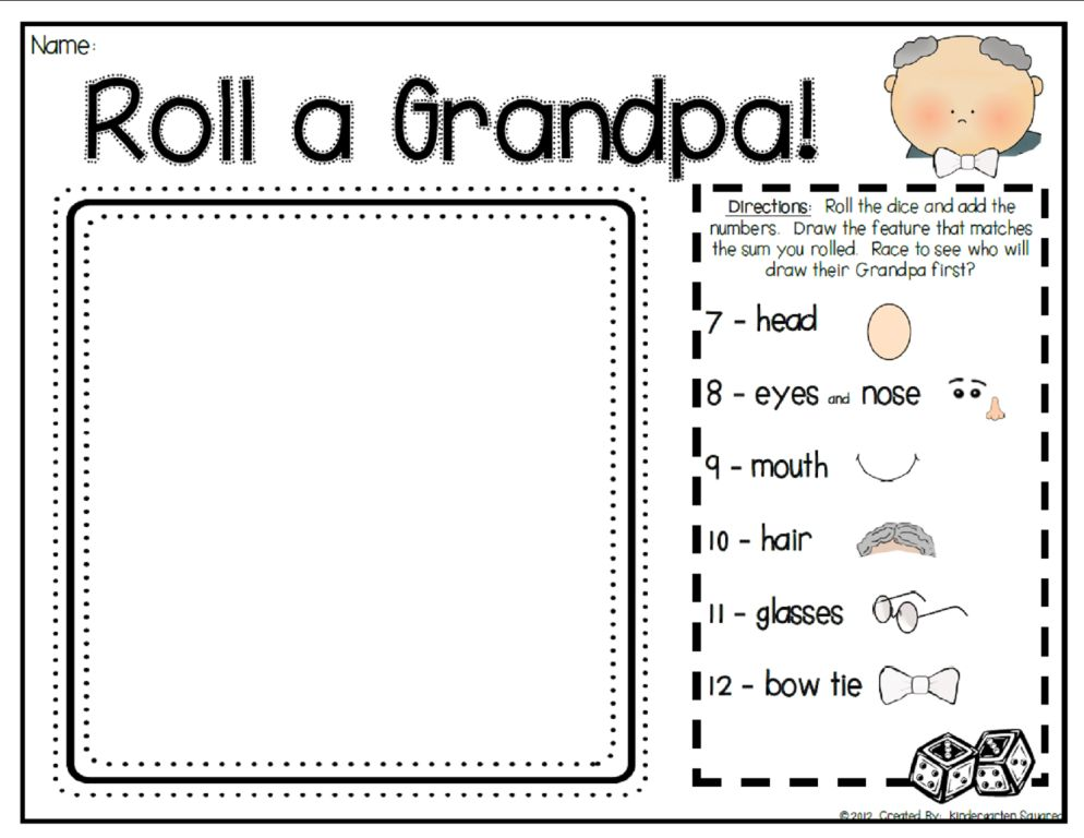 Kindergarten Squared Grandparent S Day Rocked