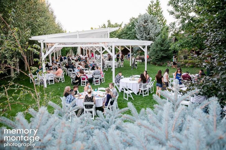 Cascade Garden Wedding || Kristi + Riley Kull