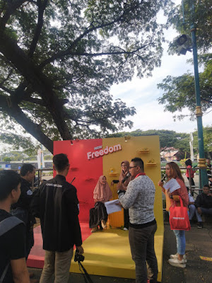 Ngabuburit Kuat Bareng Anisa Rahma di Semarang