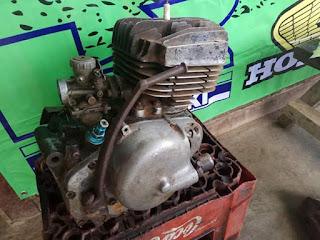 Dijual engine Suzuki ts 100 tahun 1983 Plat AA Magelang....