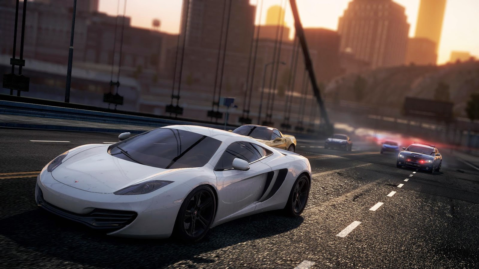Need For Speed Most Wanted Wallpaper Atau DP BBM HD Khusus