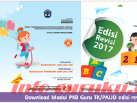 Download Modul PKB Guru TK Revisi 2017