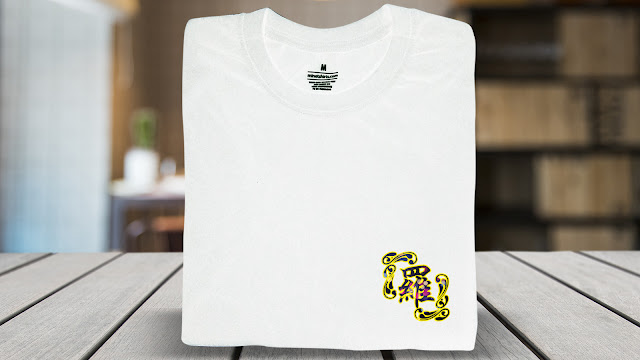 SBX20-P7FC-CTS Chinese Name T Shirt Design Custom T Shirt Printing Chinese Name T Shirts Chinese Name Tee