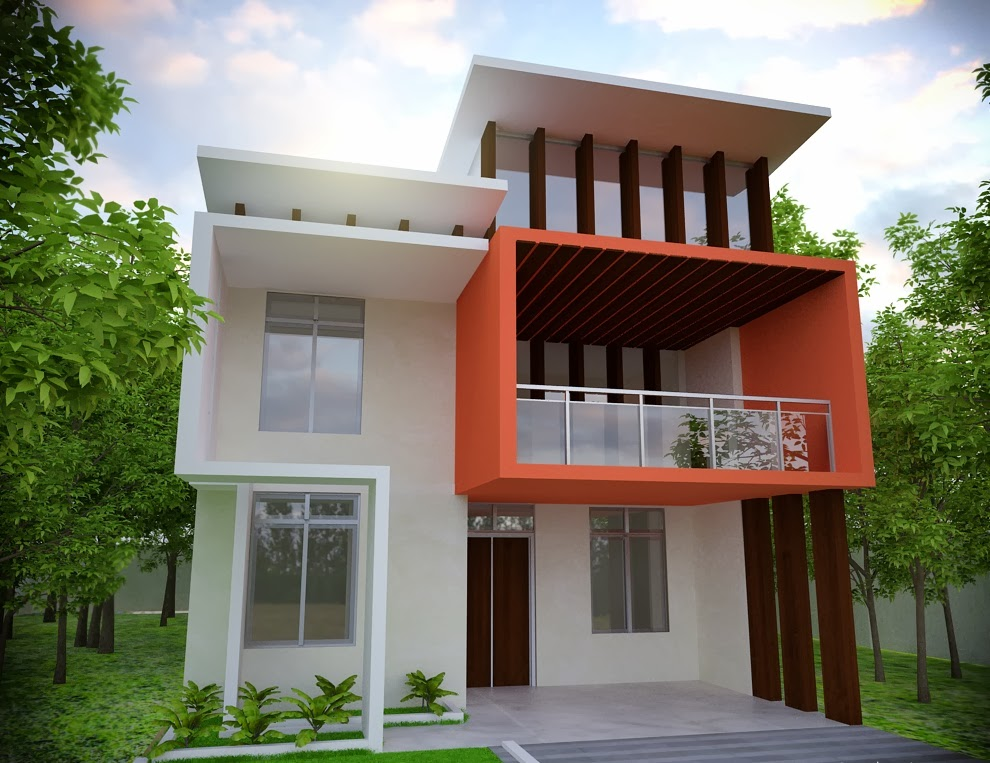 Home plans in pakistan home decor architect designer for Front design of small house