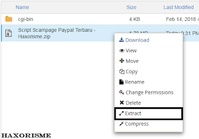 Extract Script Scampage Paypal