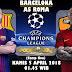 Agen Bola Terpercaya - Prediksi Barcelona vs AS Roma 5 April 2018