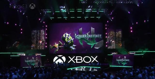 Killer Instinct Rash Battletoads character Microsoft E3 2016