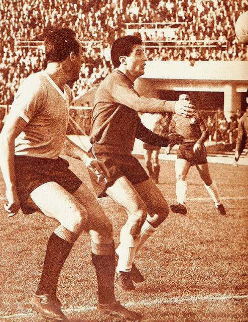 Chile y Uruguay en Copa Juan Pinto Durán 1963, partido de vuelta