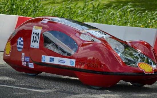 Φοιτητές του ΕΜΠ παρουσίασαν το όχημα εξοικονόμησης ενέργειας - Βίντεο