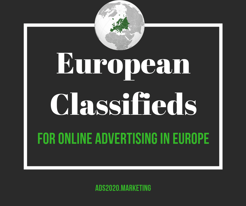 European Classifieds for online advertising in Europe-940x788