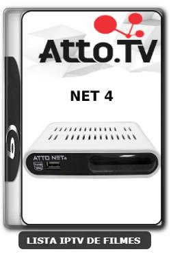 Atto Net 4 Nova Atualização Correção para os canais HD V1.42 - 12-06-2020