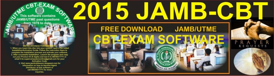 JAMB CBT PRACTICE SOFTWARE: WORKS OFFLINE (FREE DOWNLOAD)