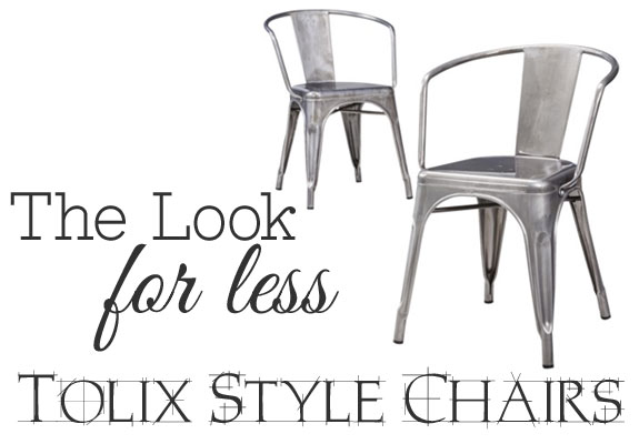 Tolix Chairs Knock Offs For Less