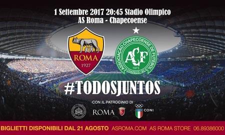 Assistir Roma x Chapecoense ao vivo grátis em HD 01/09/2017