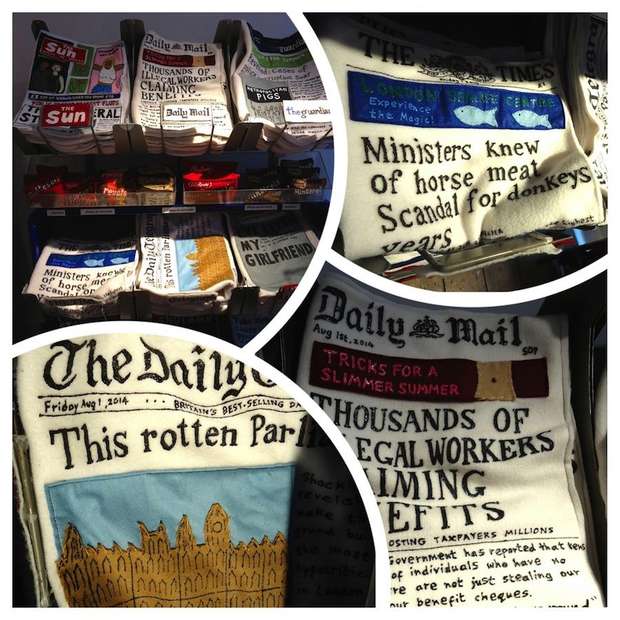 Felt newspapers