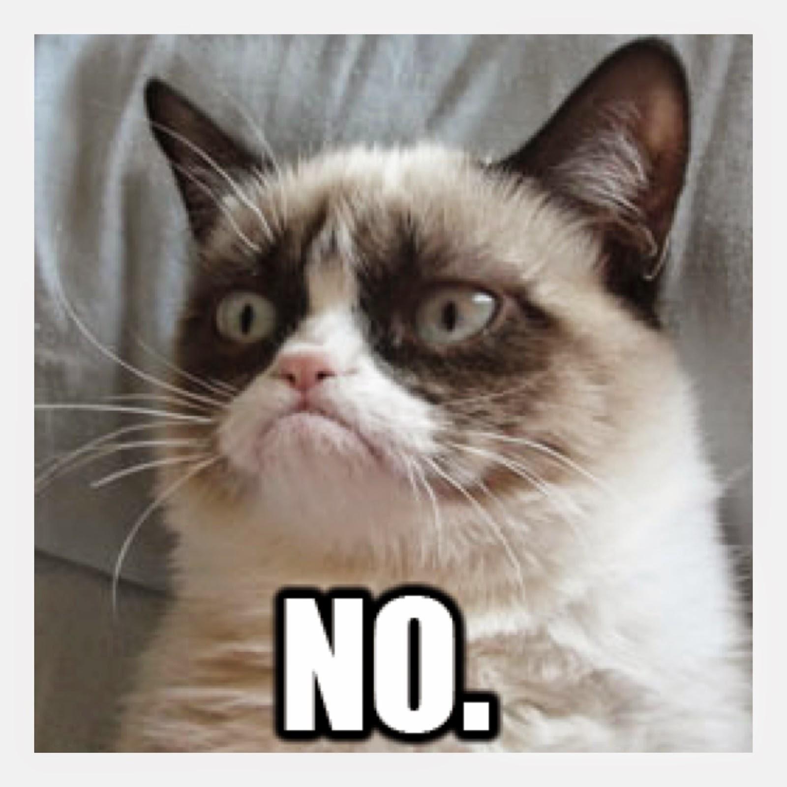 Mock Ramblings: Grumpy Cat Window Sticker