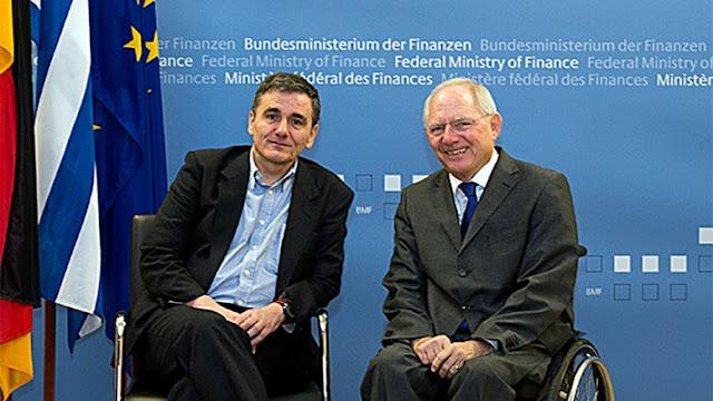 """Ο Ευκλείδης """"αθωώνει"""" τον Βόλφγκανγκ Σόιμπλε: Δεν θέλει τη χρεοκοπία της Ελλάδας, λέει"""