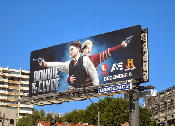 Bonnie and Clyde 2013 billboard Sunset Strip