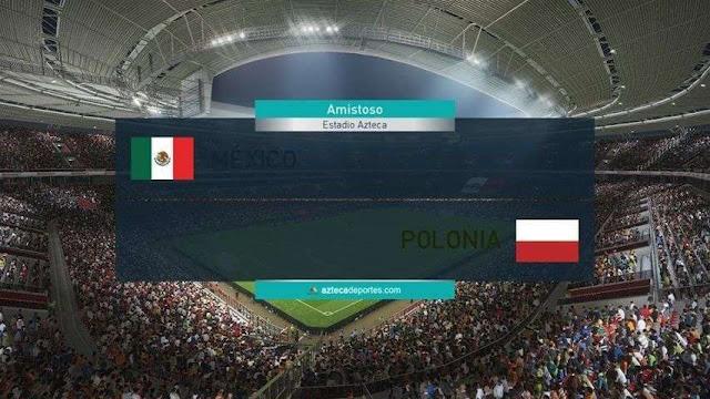 TV Azteca Scoreboard PES 2018