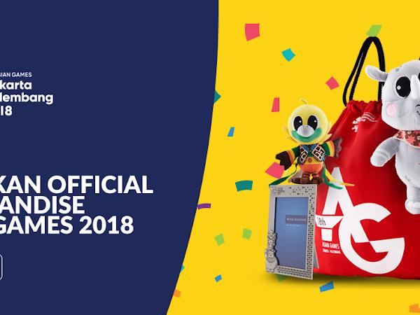 Jangan Sampai Ketinggalan! Ayo Segera Beli Merchandise Asian Games 2018 Berikut Ini!