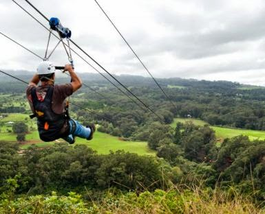 Piiholo Zipline Tours and Tickets