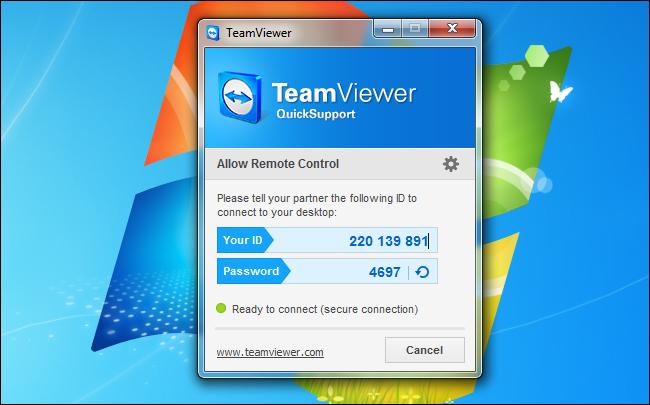برنامج TeamViewer الدعم السريع