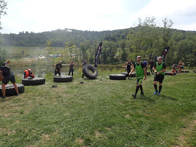 Spartan Race Tire Flip
