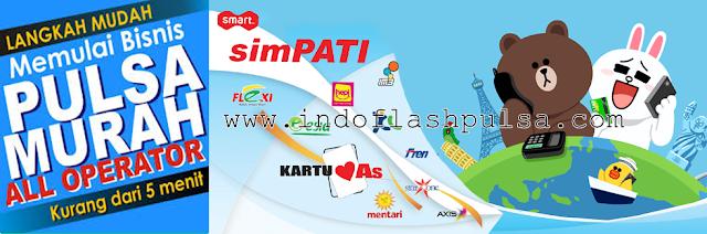 Indo Flash Pulsa Bisnis Agen Pulsa Elektrik Online Termurah