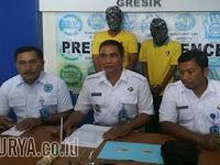 Berdalih Cari Ketenangan Diri, 2 Pemuda di Gresik Pesta Sabu-sabu