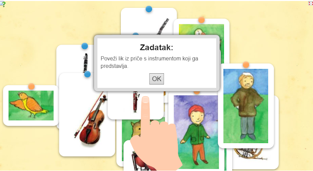 DIGITALNI ALATI - LEARNINGAPPS (PEĆA I VUK)