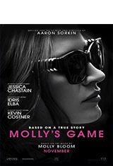 Molly's Game (2017) BRRip 720p Latino AC3 5.1 / ingles AC3 5.1