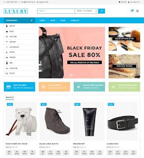 Luxury responsive wordpress theme