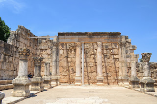 terra santa ruinas da sinagoga de Cafarnaum