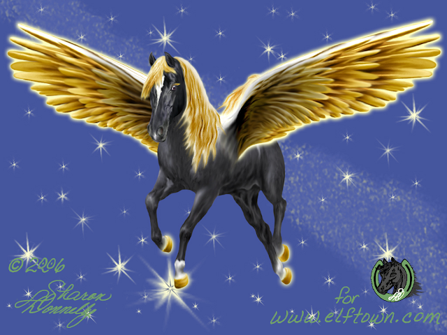Pegasus art by/© to Artsieladie