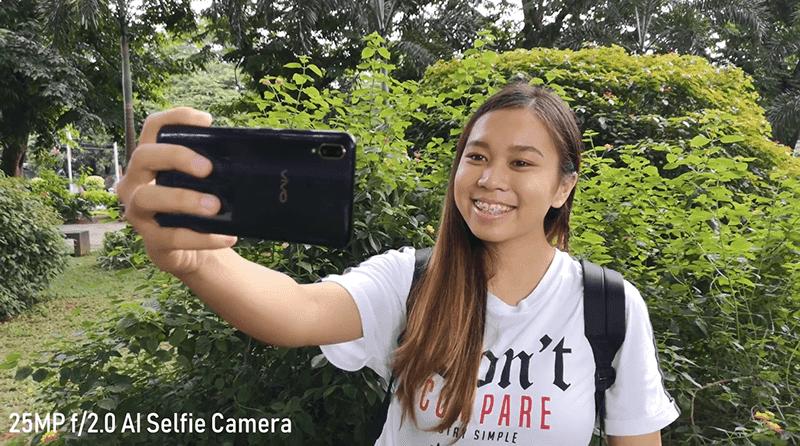 Vivo V11 selfie
