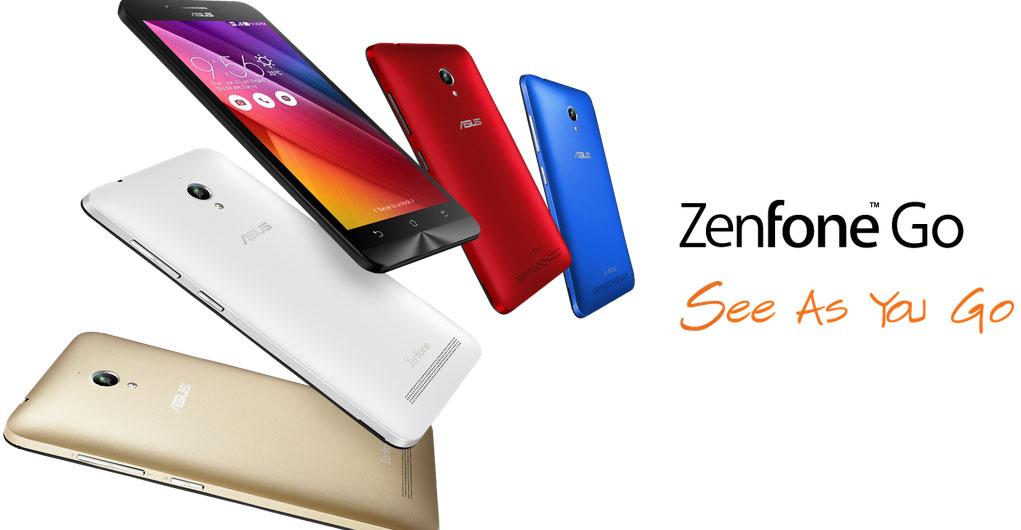 Zenfone Go 5.0 ZC500TG, Smartphone 5 Inch Terjangkau dengan Performa Quad Core