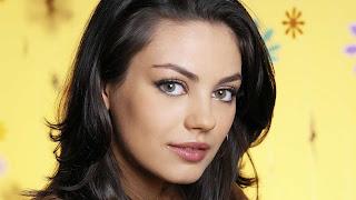 Mila Kunis beautiful face