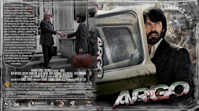 Argo Bluray Cover