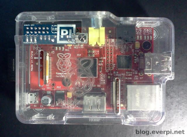 raspberry pi modelo b e pizula