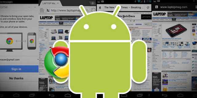 Google dobra o Chrome em Android