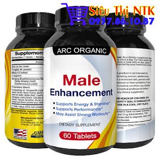Thuốc tăng cường sinh lý nam ARC Organic Male Enhancement