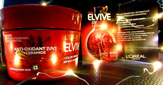 ELVIVE Revive Damaged Hair by L´Oréal Paris VoxBox - Influenster